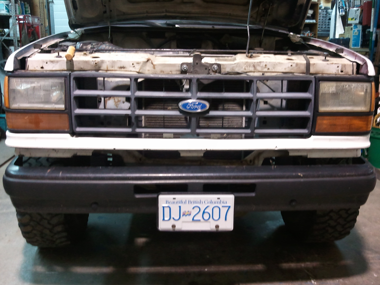 So I remember what the front end should look like