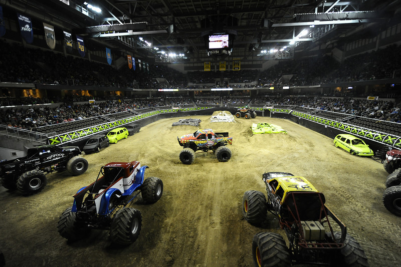It was a sold out crowd at the Monster X Tour at The Bank of Kentucky Center in Highland Heights, Kentucky.
