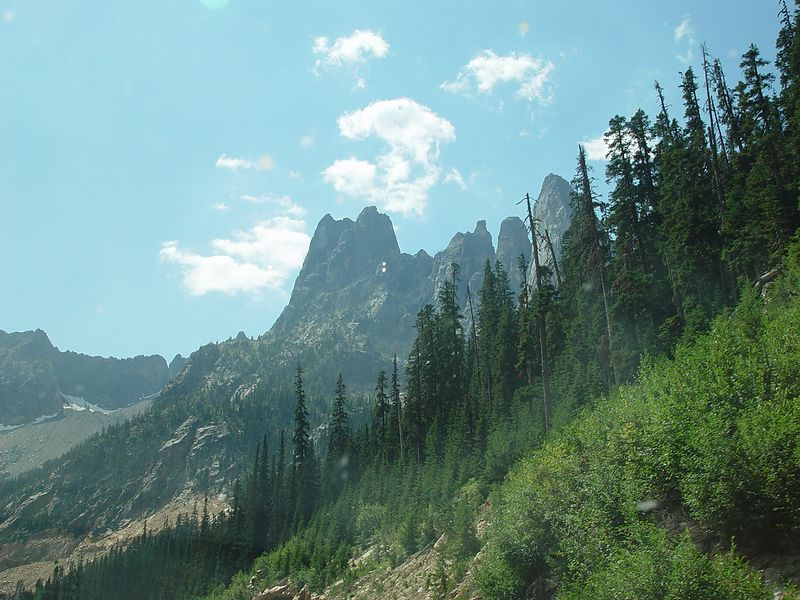 Liberty Bell Mountain.