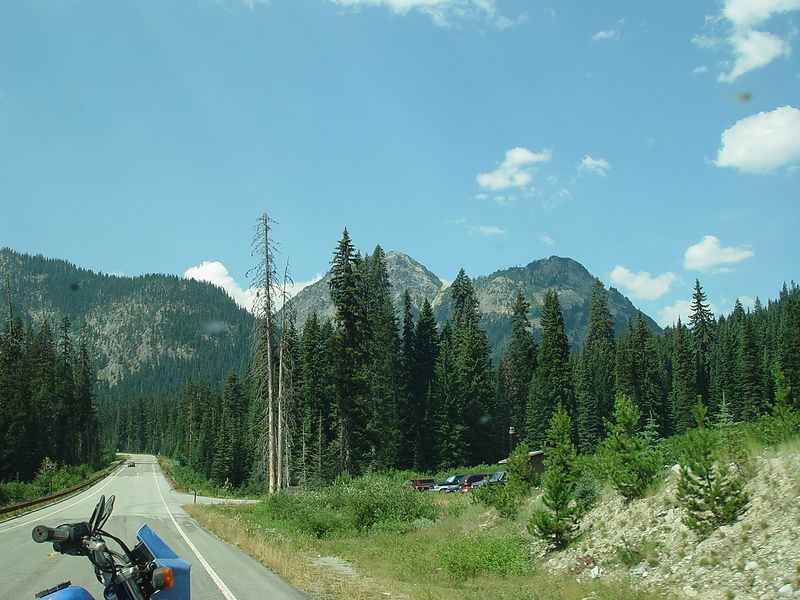 The rest area between Washington and Rainy Passes.