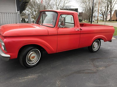 1961 F100 in good almost original condition