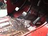 Some floor board rust