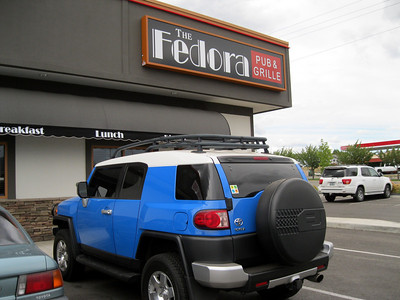 "We went to the new restaurant in Coeur d' Alene called ""The Fedora""  It was a fun place and the food was great! Aug 2010"
