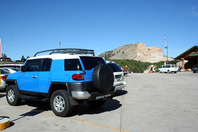 Took it to Crazy Horse in South Dakota. Sept 2012