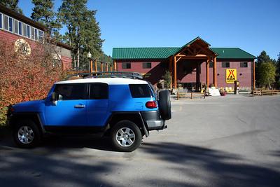 At the Lodge/KOA Lorinda & I stayed at in South Dakota. Sept 2012