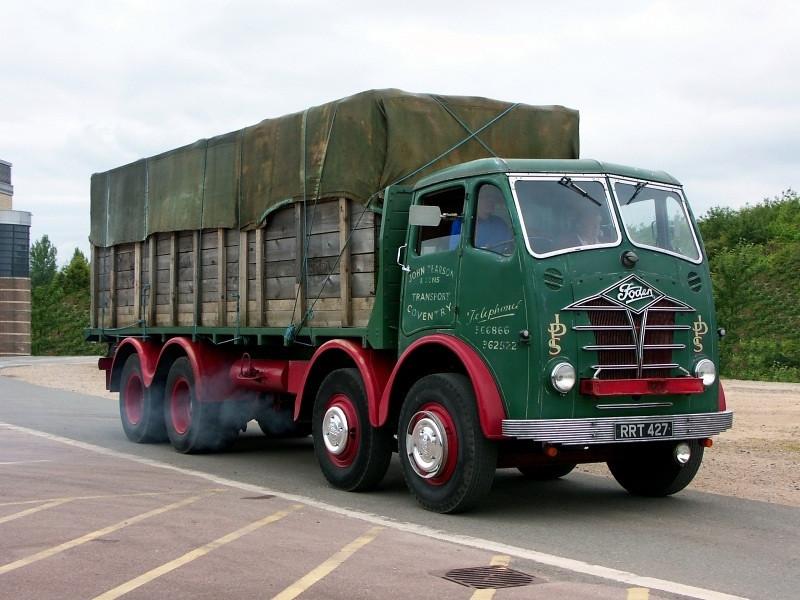RRT 447 FODEN S18 CB/FG 1955