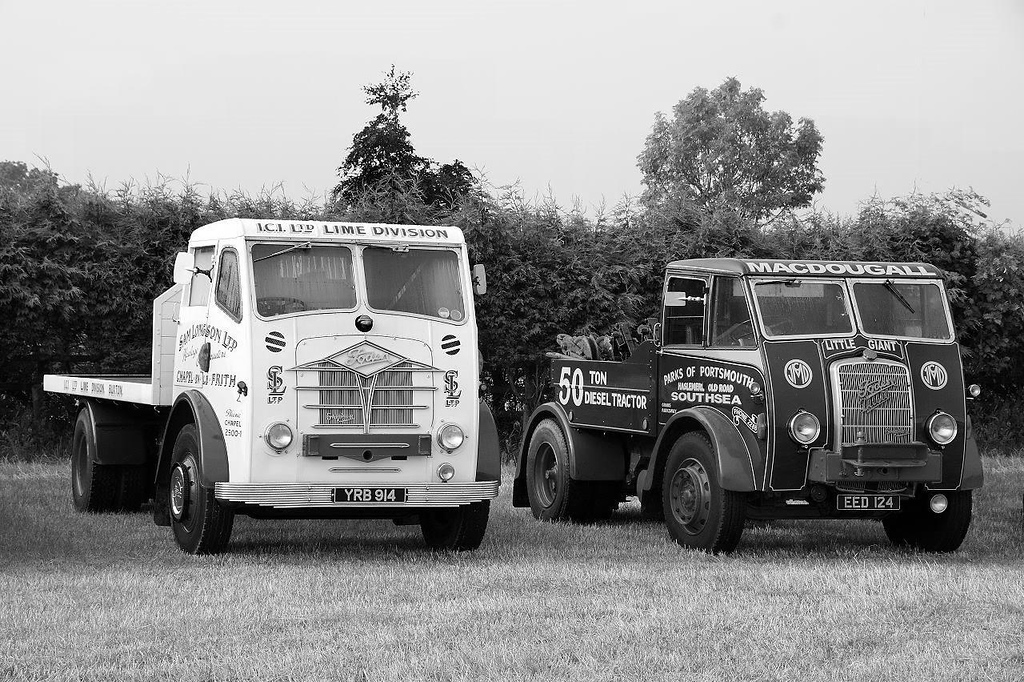 YRB 914 & EED 124 FODEN`s