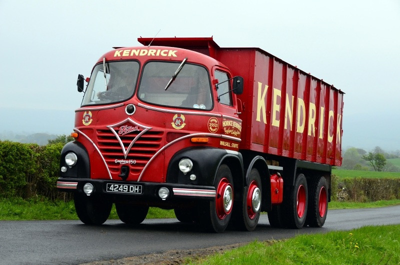4249 DH FODEN S21A 1964
