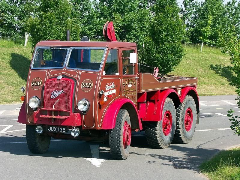 JUX 135 FODEN 1940