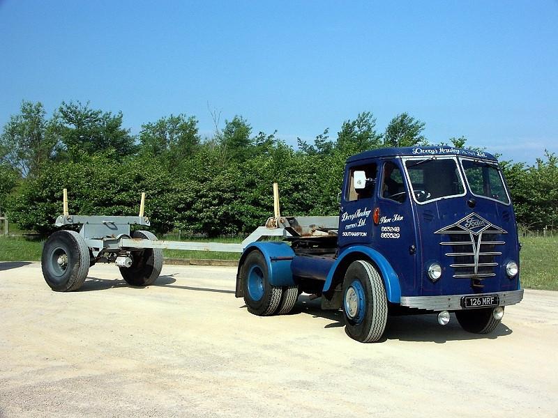 126 MRF FODEN S18 1956