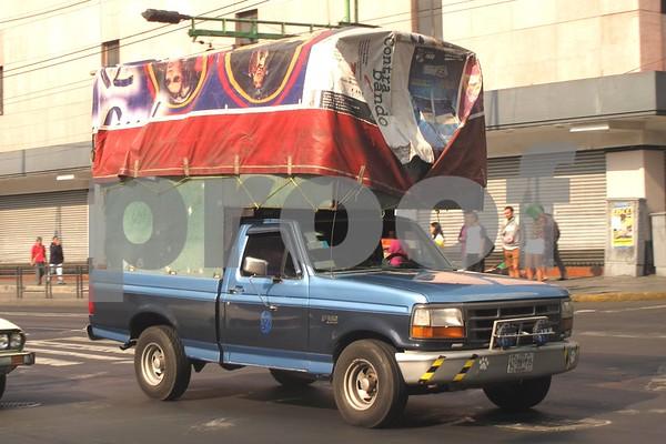 Trucks in Mexico April 2015