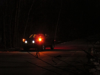 Attempting night shots with a compact digital camera.  I should have brought the DSLR to get better shots.