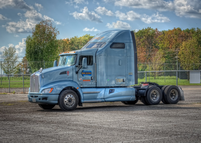 """2011 Kenworth...affectionately known as  """"Brad's Baby"""""""