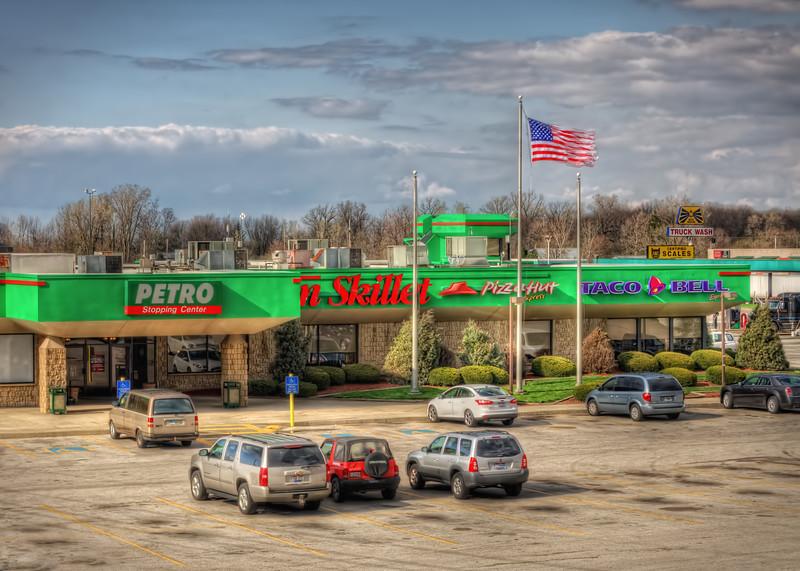 Petro Truck Plaza - New Baltimore Ohio