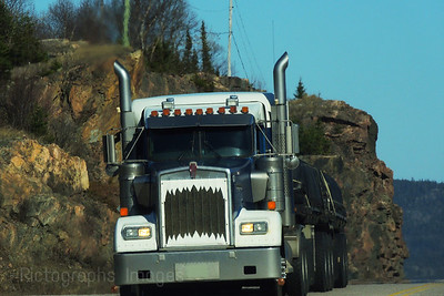 Trucking Through Canada