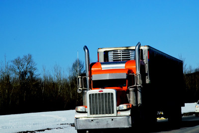 Trucking, Down The Highway,