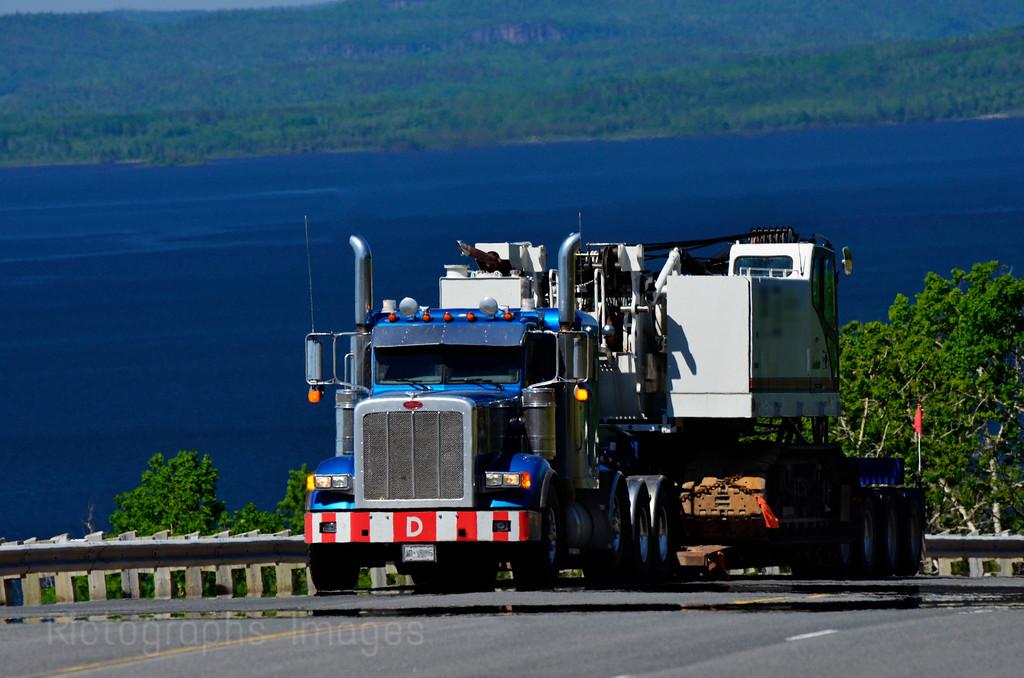 Transport Trucking; Big Equipment