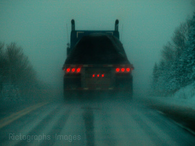 Travel Trucking on the Trans Canada Highway