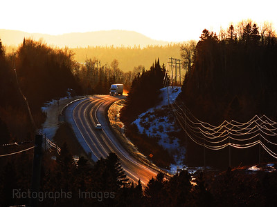 Highway Trucking, Photography, Rictographs Images