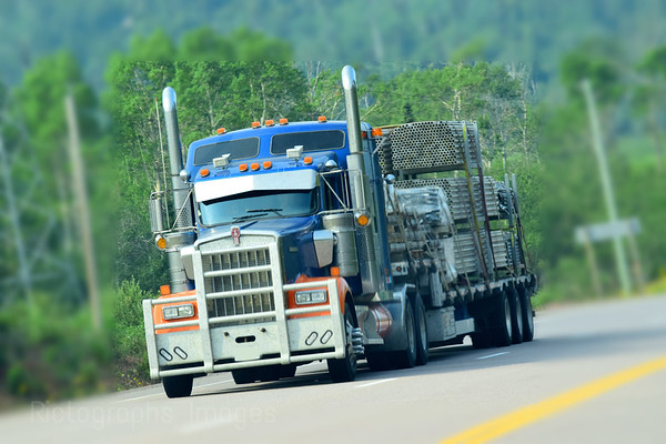 Trucking, Travel, Canada