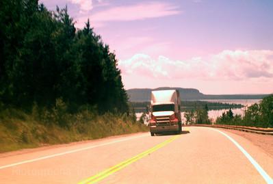 Highway 17 North coast Lake Superior