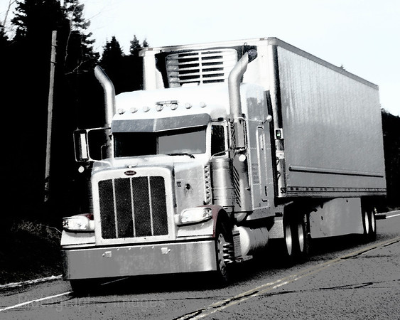 Trucking, B & W