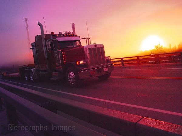 Travel Trucking In Canada