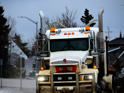 Trucking On The Trans Canada Highway, Photography, Rictographs Images