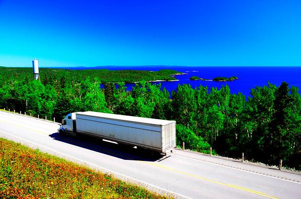 Trucking Highway Seventeen, Summer 2017