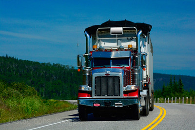 Trans Canada Highway, Trucking, PhotographyRictographs Images