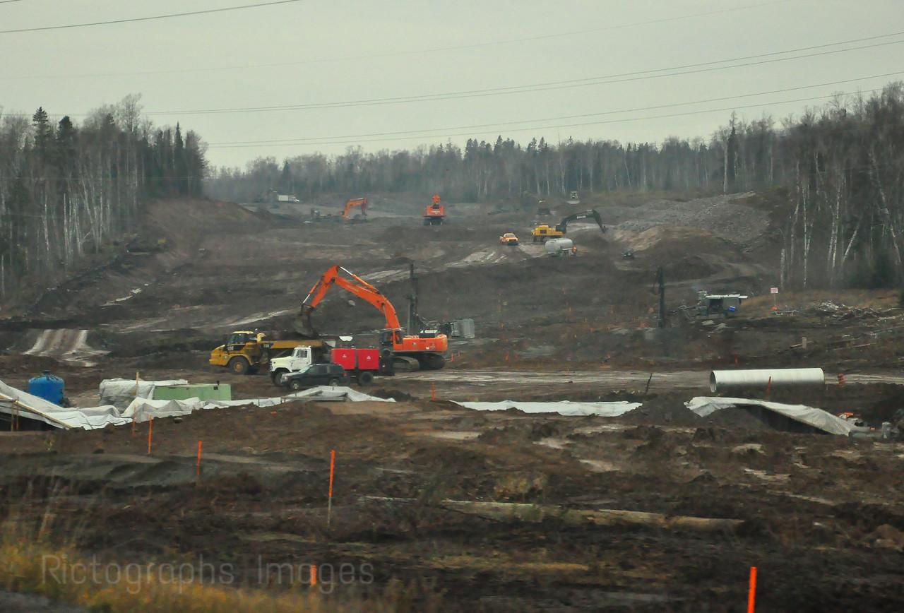 Trans Canada Highway Construction