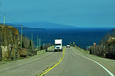 Lake  Superior Circle Route, Near Rossport, Ontario, Canada