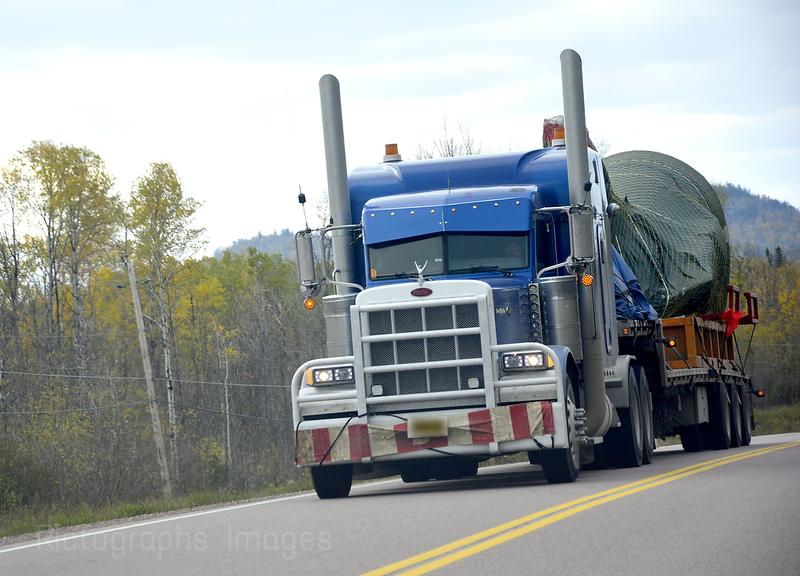 Travel, Trucking in Canada,  609