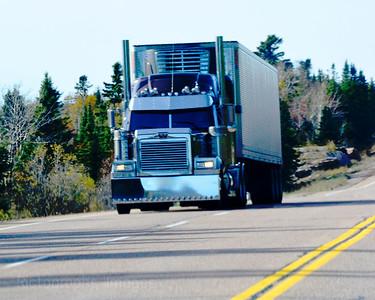 Trucking Trans Canada