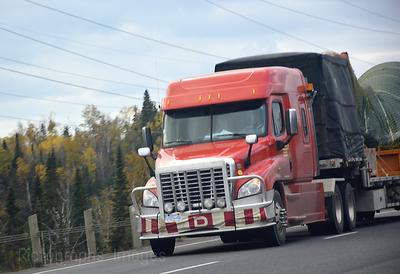 Trucking Across Canada
