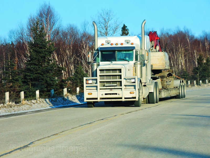 Trucking, Truck, Moving The Goods
