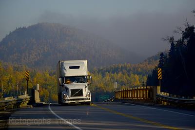 Trucking Bye Buffalo Mountain