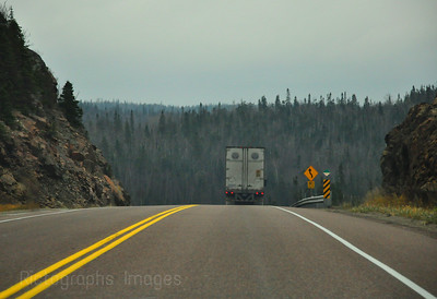 Trans Canada Highway, Landscape, Photography, Trucking, 0077