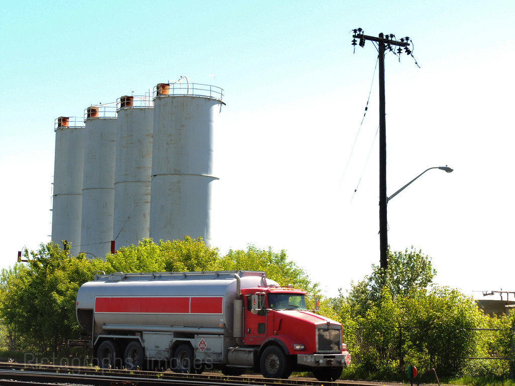Fuel Delivery Truck; Rictographs Images;