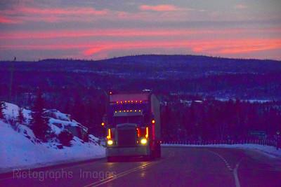 Trucking, Northwestern Ontario,