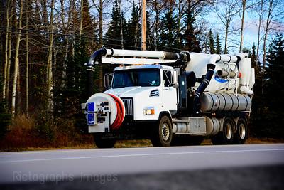 Vaccum Truck,