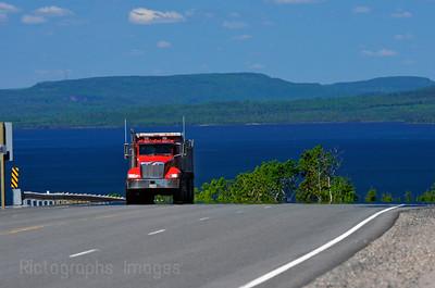 Lake Superior; Trucking