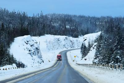 Highway, Trucking, Winter 2018