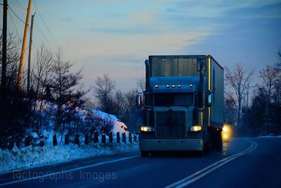 Winter Trucking,