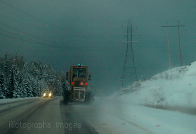 Trans Canada Highway,landscape,winter,snow,5524