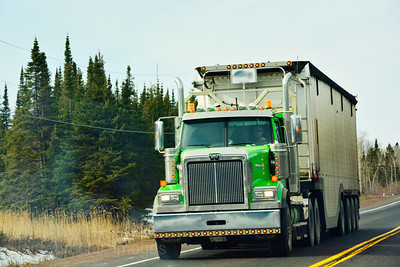 Green Truck, Trans Canada Highway Trucking