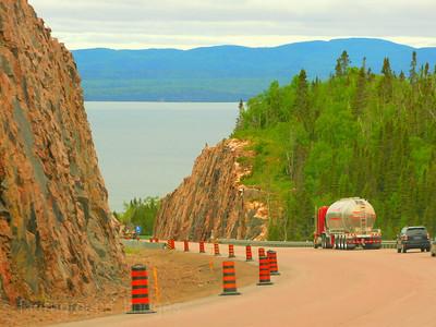 Travel, Trucking, Highway Seventeen