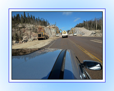 Travel On The Trans Canada Highway; Ric Evoy; Rictographs Images; Breaking Rocks
