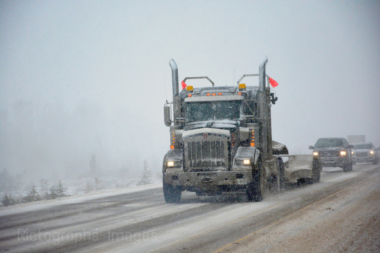 Snowstorm Trucking