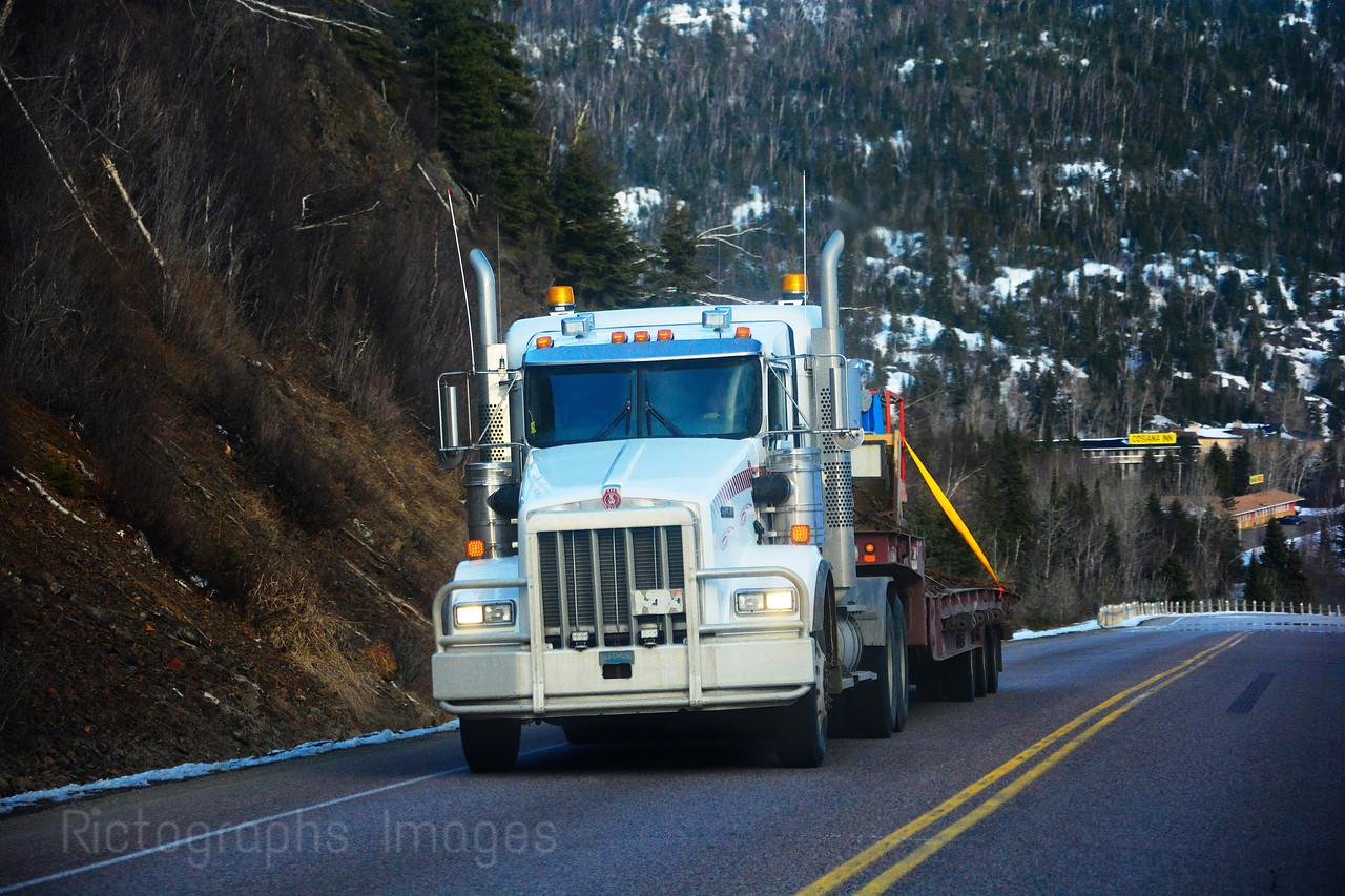 Trans Canada Trucking, Schreiber, Ontario, Canada